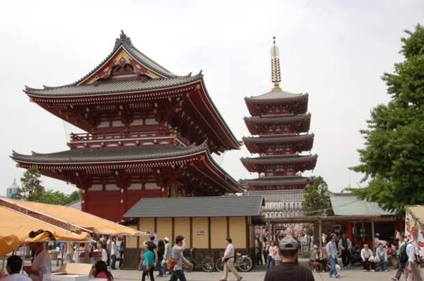 Такая форма не только выдвигала крышу подальше от стен, но и отличалась высокой сейсмоустойчивостью / Фото: anime.com.ru