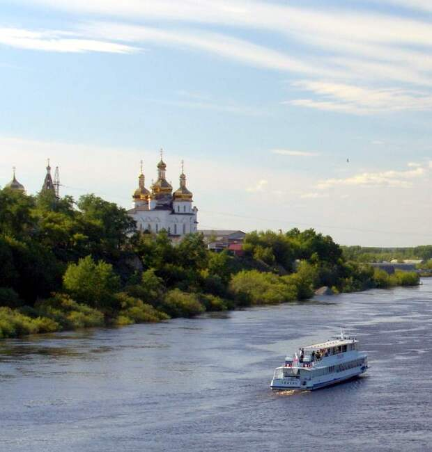 Река Тура.