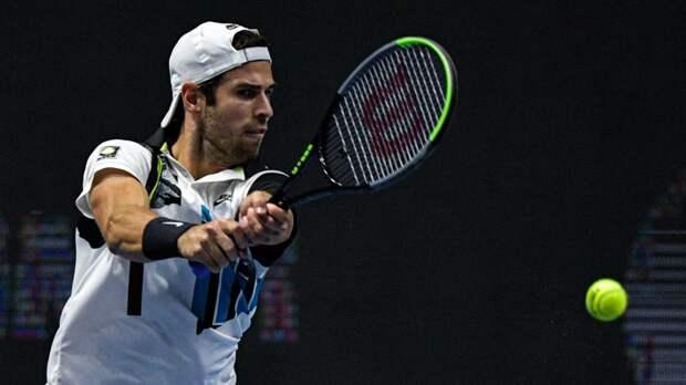 Хачанов и Рублёв проиграли в первом круге парного разряда турнира ATP в Галле