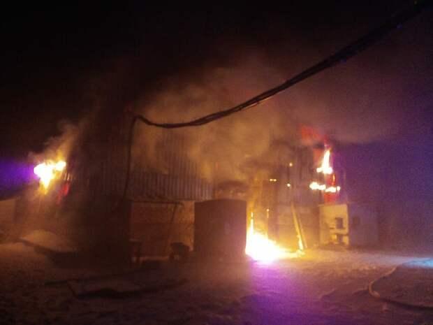 11 пожаров произошло в Вихоревке Братского района с начала года