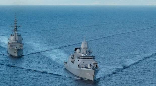военные корабли НАТО