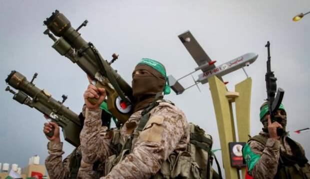 Бойцы ХАМАС заявили оракетном обстреле израильской военной базы