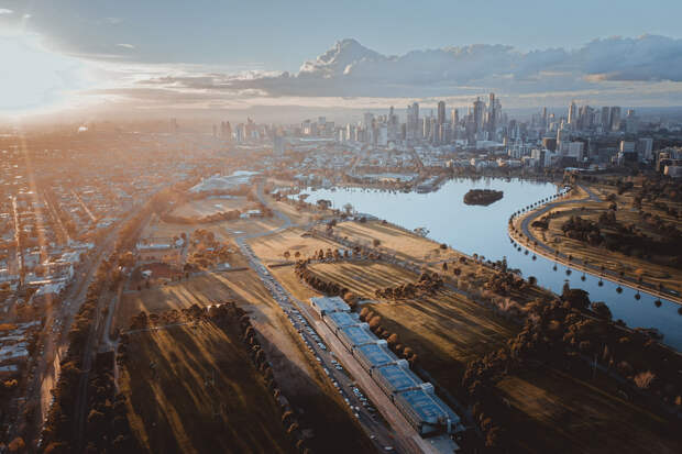 Melbourne city by 少说Miao  on 500px.com