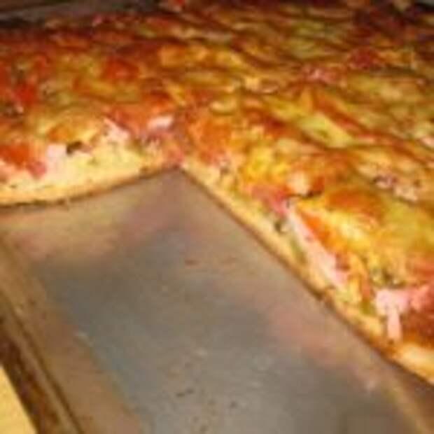 Вкуснейшая заливная пицца.