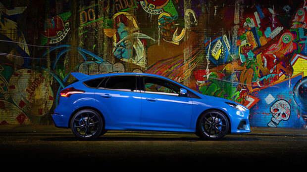 Ford Focus RS подсаживается на «курс»