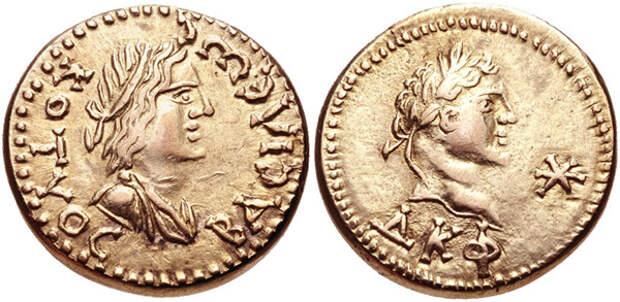 Царица Боспора Динамия и Аспург
