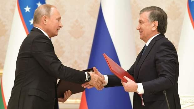 Владимир Путин обсудил с президентом Узбекистана производство «Спутник V» на территории страны
