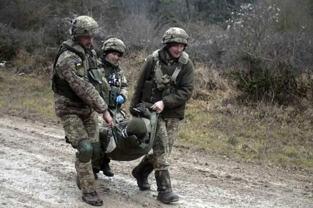 Два бойца ВСУ погибли на Донбассе за минувшие сутки
