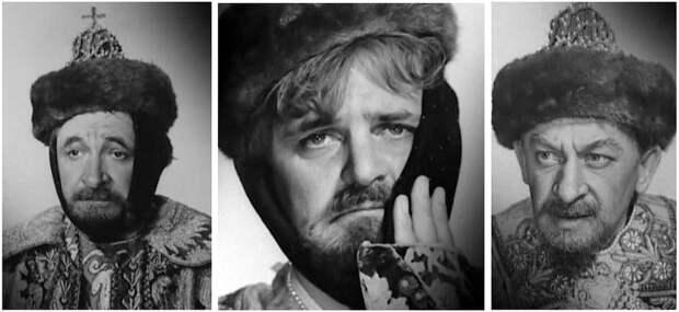 Фотопробы любимых советских актеров на роли героев фильма «Иван Васильевич меняет профессию».