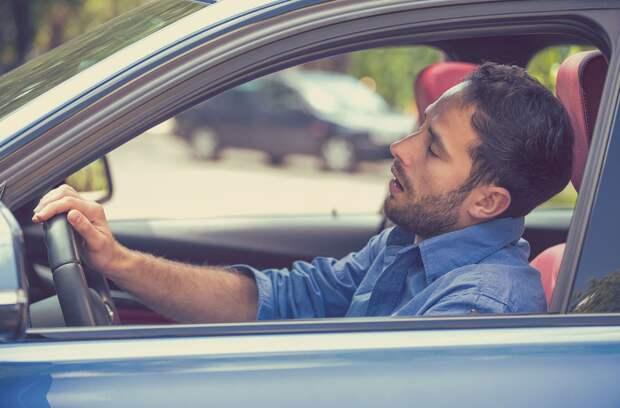 Как прогнать сон в дороге