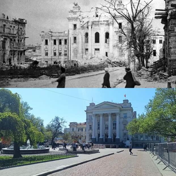 Севастополь в 1944 году и 2021-м: каким был город после войны и каким стал в составе РФ