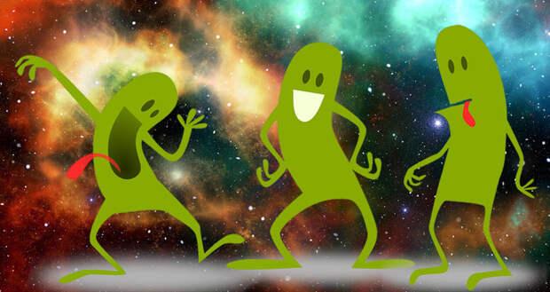 Пришельцы могли посещать Землю, но были такими маленькими, что мы их не заметили