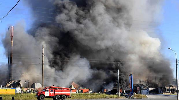 Стали известны причины пожара на АЗС в Новосибирске