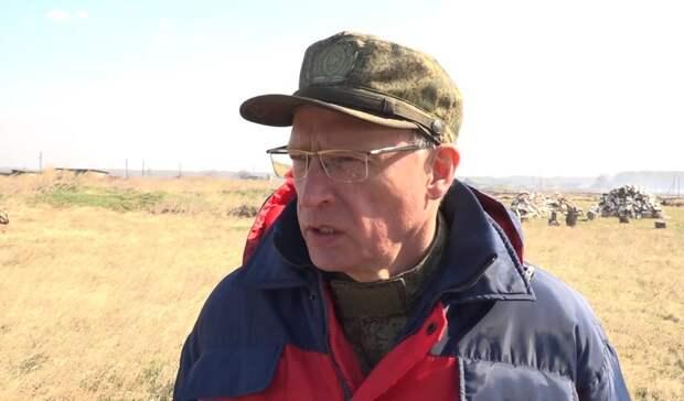 Бурков побывал впострадавшей отпожара деревне