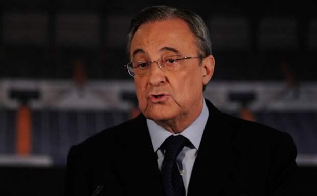 Президент «Реала» Флорентино Перес сдал положительный тест на коронавирус