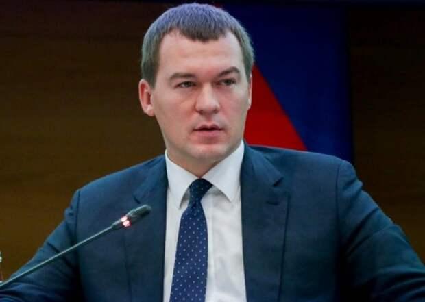 Дегтярев заявил об участии в хабаровских митингах провокаторов из Грузии