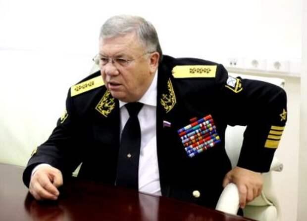 Адмирал Комоедов: Россия исправляет ошибки в Средиземном море