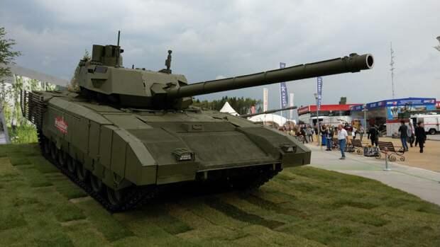 """Гендиректор Ростеха объяснил, как ИИ сможет управлять танком Т-14 """"Армата"""""""