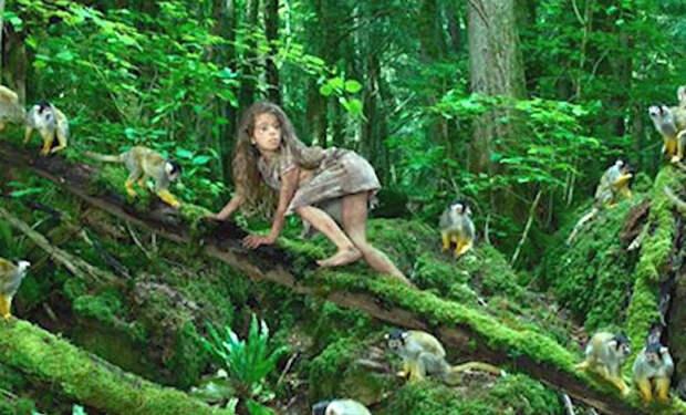 Женщину забыли в лесу на 10 лет: она жила с обезьянами и стала понимать их язык