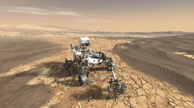 На Марсе были обнаружены останки ещё одного динозавра
