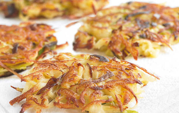 Жарим оладьи только из картошки: едим и утром, и вечером