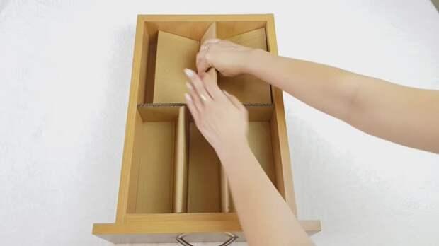 Картинки по запросу 5 ИДЕЙ из картона для ПОРЯДКА в доме. БЮДЖЕТНЫЕ органайзеры для хранения вещей своими руками.🤲✂️