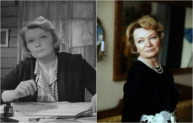 Советская и российская актриса театра и кино, широкую известность получила благодаря роли Веры Тимофеевны Кругловой в знаменитой картине «Девчата».