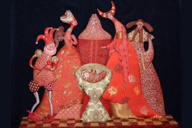 Необычные и странные интерьерные игрушки