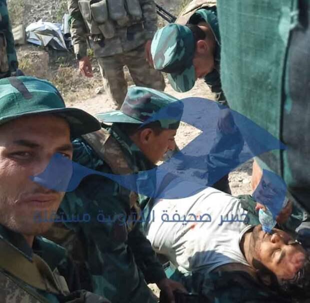 Заградотряды ВС Азербайджана в Карабахе расстреляли 300 сирийских наёмников