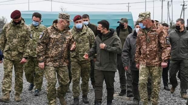 """Зеленский пообещал ответить """"мощной армией"""" на отказ ЕС поддерживать Киев в Донбассе"""
