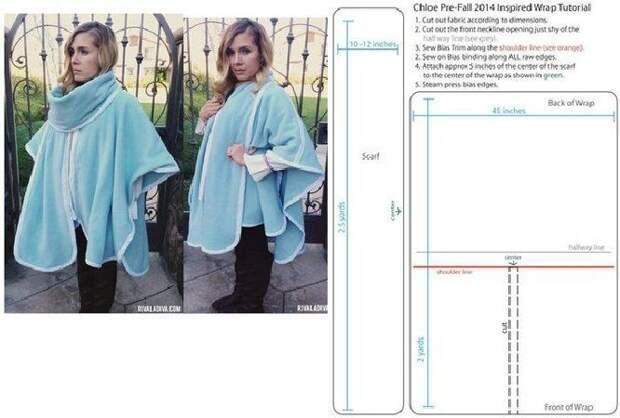 Простые идеи для шитья, или Как легко украсить себя осенью. Часть 3, фото № 18