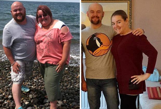 Джо и Бэрри потеряли половину своего общего веса! диета, лишний вес, похудение