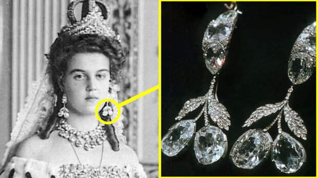 Какие украшения Романовых хранятся в Алмазном фонде Кремля?