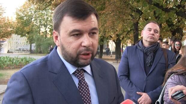 Глава ДНР заявил об отсутствии конструктива по Донбассу со стороны властей Украины