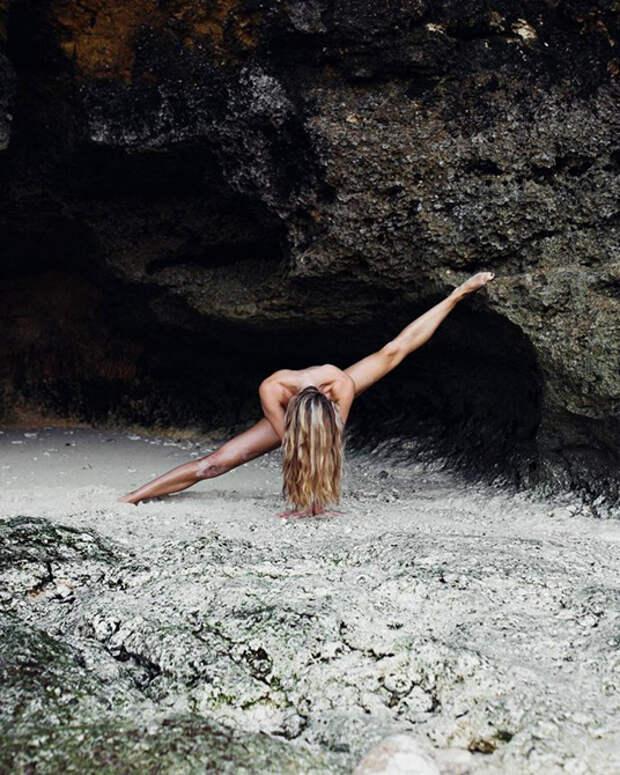 Красивая поклонница йоги создала инстаграм, от которого невозможно оторваться