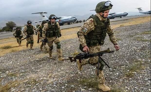 Учения ОДКБ: боевики Талибана и ИГИЛ не пройдут в Таджикистан