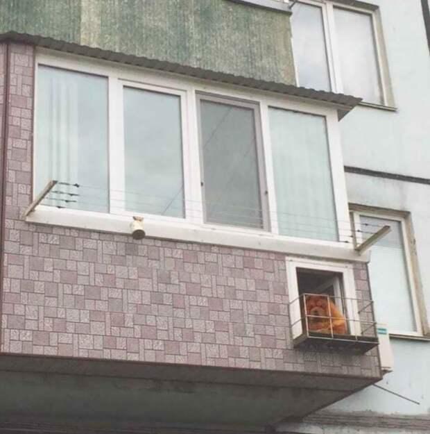 20 причудливых балконов, которые вызывают вопросы