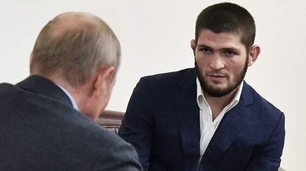 Путин лично позвонил Хабибу Нурмагомедову и выразил соболезнования в связи со смертью отца