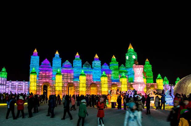 Фестиваль снега в Харбине