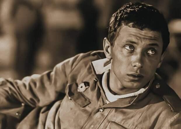 Олег Даль в роли Жени Колышкина. Кадр из фильма «Женя, Женечка и «Катюша»», 1967
