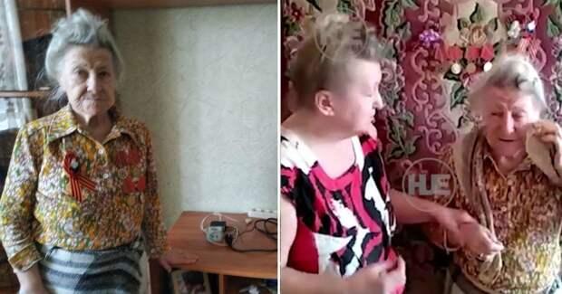 Фото Приставы забрали у 92-летней бабушки-ветерана телевизор из-за долгов внучки