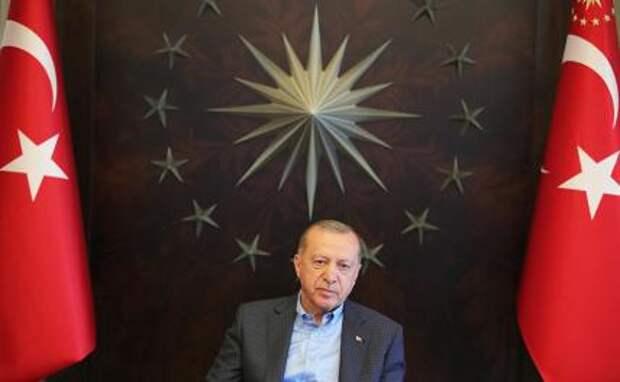 На фото: президент Турции Реджеп Тайип Эрдоган