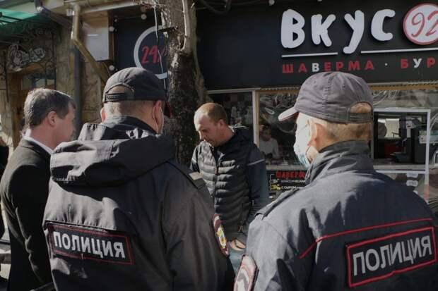 Контроль над перемещениями горожан введен в Севастополе