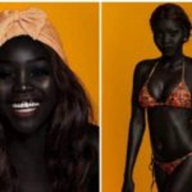 Королева тьмы: темнокожая красотка произвела фурор в мире моды