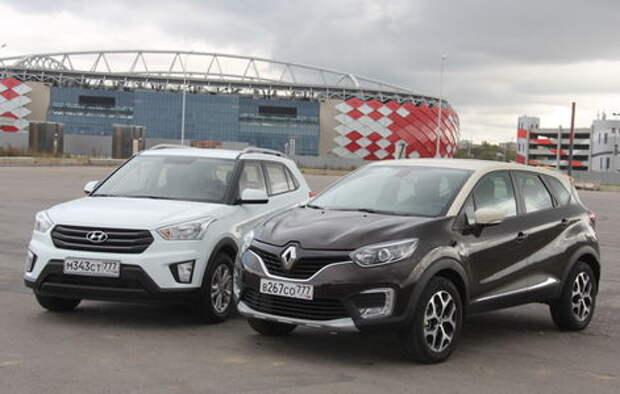 Hyundai Creta или Renault Kaptur: борьба противоположностей