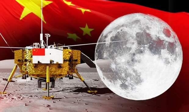 Китайский спутник нашел на обратной стороне Луны странные следы