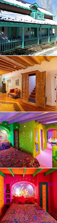 Яркий дом за 2 млн долларов (148 млн рублей)