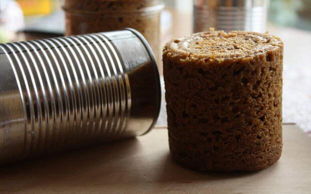 Да-да, консервированным бывает даже хлеб, в России не видел, а здесь вижу зачастую!