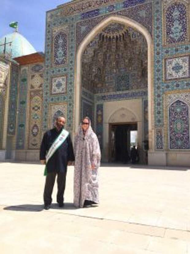 Во время путешествия по Ирану / Фото из личного архива
