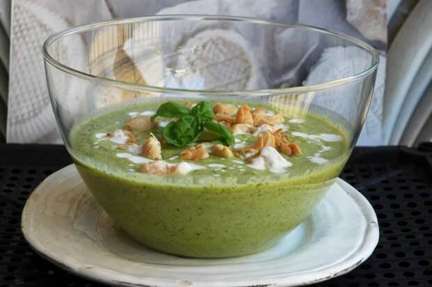 Бархатный суп для жары